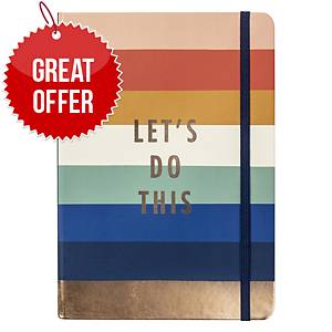 BUSY B Lets Do This Undated Planner A5 Navy