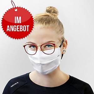 Schutzmaske aus OEKO-TEX®-Material, 2-lagig, 20 Stück