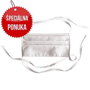 Ochranné rúško z OEKO-TEX® materiálu, 2-vrstvové, 20 kusov