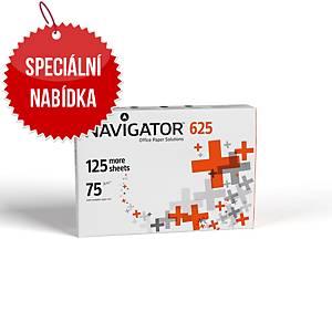 Papír Navigator A4 75 g/m², bílý, prémiová kvalita, 625 listů