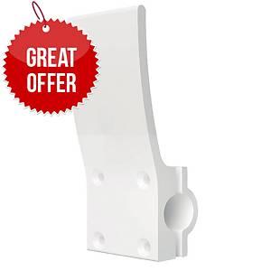 HANDS FREE DOOR OPENER ROUND WHITE