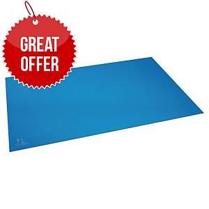 Exacompta Cleansafe Desk Mat 59x39 Blue
