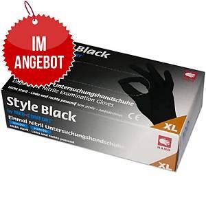 MED-COMFORT® STYLE Einweg-Nitril-Handschuhe, Größe XL, 100 Stück