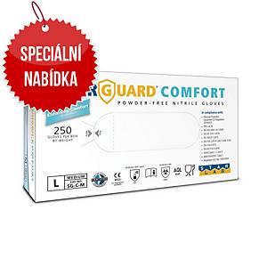 Jednorázové nitrilové rukavice STARGUARD® COMFORT, velikost L, 250 kusů