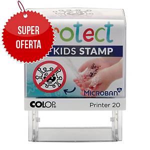 Pieczątka  czyste ręce  dla dzieci COLOP Protect Kids