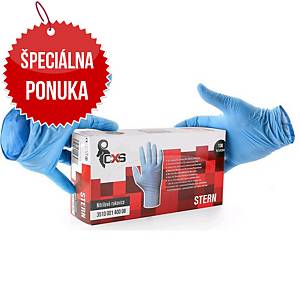 Jednorazové nitrilové rukavice CXS Stern, veľkosť 8, 100 kusov