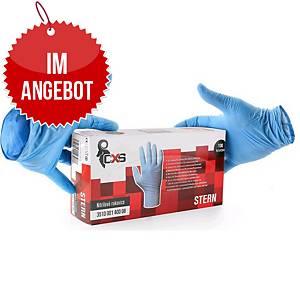 STERN Einweg-Nitril-Handschuhe, Größe 8, 100 Stück