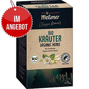 Messmer Bio Tee Kräuter, 18 Stück