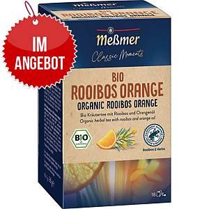 Messmer Bio Tee Rooibos-Orange, 18 Stück