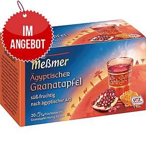 Messmer Tee Ägyptischer Granatapfel, 20 Stück