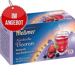 Messmer Tee Nordische Beeren, 20 Stück