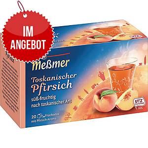 Messmer Tee Toskanischer Pfirsich, 20 Stück