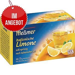 Messmer Tee Italienische Limone, 20 Stück