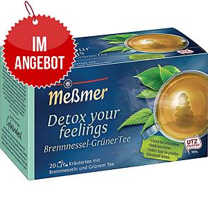 Messmer Tee Detox Brennnessel grün, 20 Stück