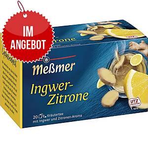 Messmer Tee Ingwer-Zitrone, 20 Stück