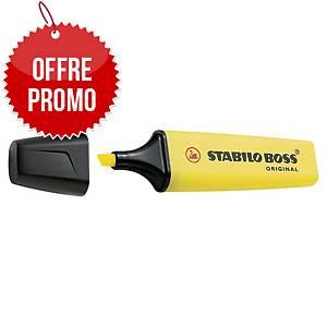 Surligneur Stabilo Boss Original - jaune néon