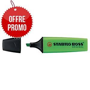 Surligneur Stabilo Boss Original - vert néon