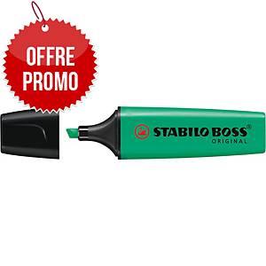 Surligneur Stabilo Boss Original - turquoise néon