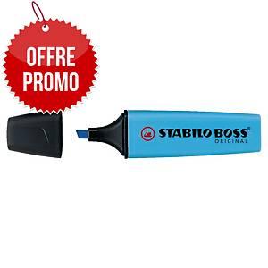 Surligneur Stabilo Boss Original - bleu néon