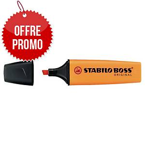 Surligneur Stabilo Boss Original - orange néon