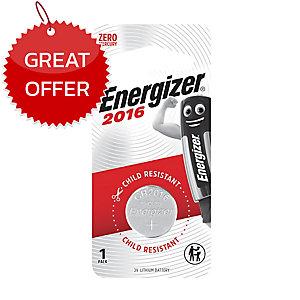 ENERGIZER CR2016 LITHIUM BATTERY 3 VOLT