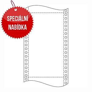 Papír do jehličkových tiskáren  60g/m2, 1+0 vrstev, šířka 240mm, délka 12´´