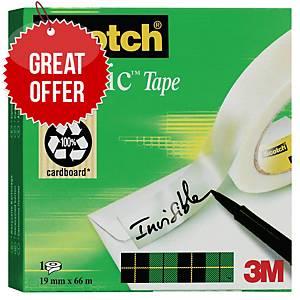Scotch Magic Sticky Tape - 19mm X 66M Roll
