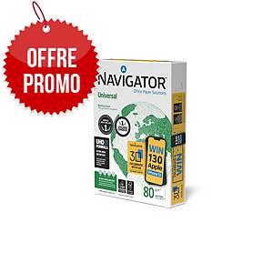 Papier blanc A4 Navigator Universal - 80 g - ramette 500 feuilles