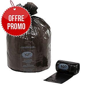 Carton 500 sacs poubelles economiques 50l 16 microns 680x800