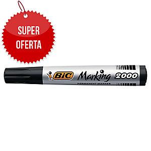 Marker permanentny BIC Marking 2000, okrągła końcówka, czarny