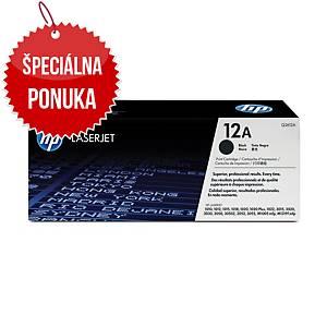 HP laserový toner 12A (Q2612A) čierny