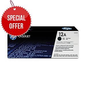 Hp Q2612A Original Laser Toner Cartridge - Black