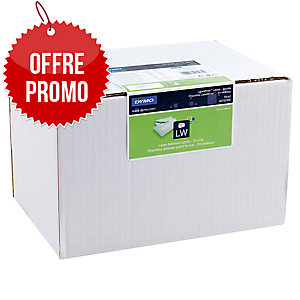Pack avantage eco 24 rouleaux de 260 étiquettes lw 89x36mm