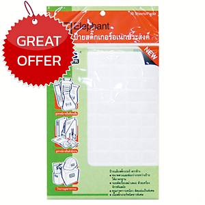 ELEPHANT A5 LABEL 13MM X 38MM 56 LABEL/SHEET - PACK OF 15 SHEETS