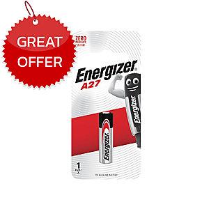 ENERGIZER A27 BATTERY 12V ZERO MERCURY