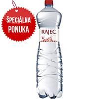 Pramenitá voda Rajec, perlivá, 1,5 l, balenie 6 kusov
