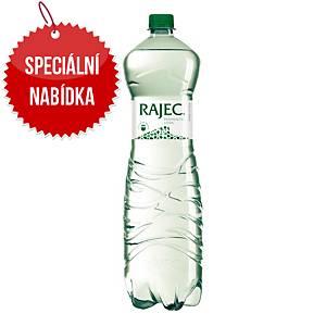 Pramenitá voda Rajec, jemně perlivá, 1,5 l, 6 kusů