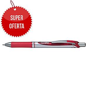 Automatyczny długopis żelowy PENTEL BL77 EnerGel, czerwony