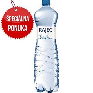 Pramenitá voda Rajec, neperlivá, 1,5 l, balenie 6 kusov