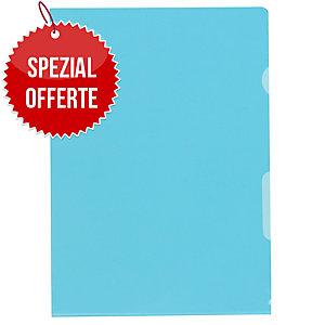 Sichtmappe Kolma Visa Dossier 59464 A4, PP, blau, Packung à 100 Stück