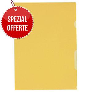 Sichtmappe Kolma Visa Dossier 59464 A4, PP, gelb, Packung à 100 Stück