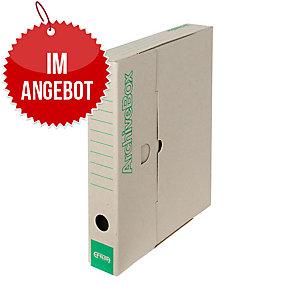 Emba Standard-Archivboxen A4 33x26x5 cm