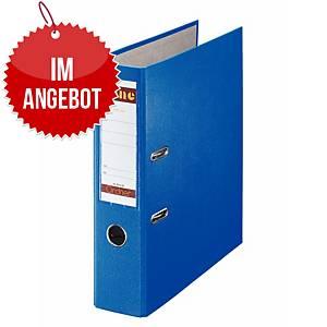Bene 291400 Standardordner A4, blau, Rückenbreite: 8 cm