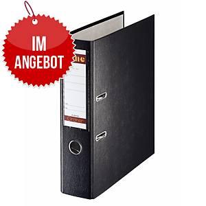Bene Standardordner A4 schwarz, Rückenbreite: 8 cm