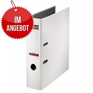 Bene Standardordner A4 weiß, Rückenbreite: 8 cm