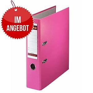 Bene Standardordner A4, Rückenbreite: 8 cm, rosa