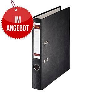 Bene Standardordner A4 schwarz, Rückenbreite: 4,5 cm