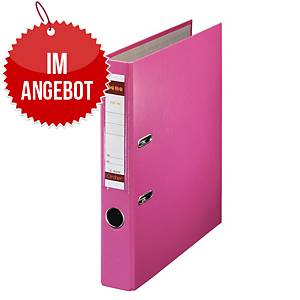 Bene Standardordner A4, Rückenbreite: 4,5 cm, rosa