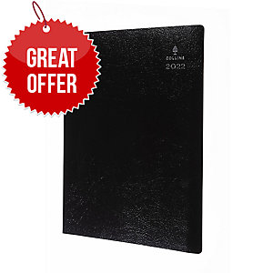 COLLINS LEADERSHIP A4 APPOINTMENT DIARY GRAPHITE - WEEK TO VIEW