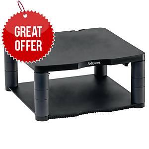 Fellowes 9169401 Premium monitor riser adjustable height gray
